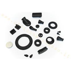 Kit de piezas de goma para Vespa 86048700 L - R