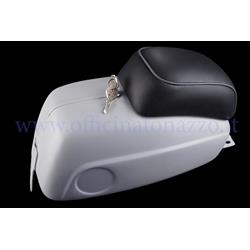 Glove box modified as additional tank for Vespa 50SS and 90SS 2nd series (cushion and lock included)