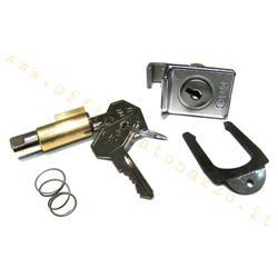 Steering lock - top box (4mm guide) for Vespa 50 - Primavera - ET3 - TS - Rally - Sprint - Veloce - GT