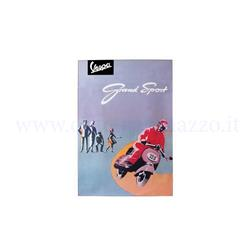 189110175 - Vespa Gran Sport poster measures 48 x 67 cm