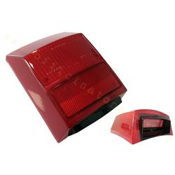 rp223 - Cuerpo de luz trasera roja para Vespa PK 125 - PK 80/100 / 125S - Vespa PL 80/100 / 125S Automático