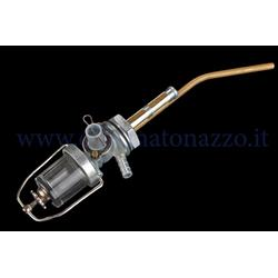 Grifo de depósito con vaso de vidrio para Vespa 125 VNB1T> 6T - Super - GT- GTR - 150 VBA1T - VBB1T> 2T - GL - Super - Sprint - Sprint Veloce 125 VNB1t> 6T