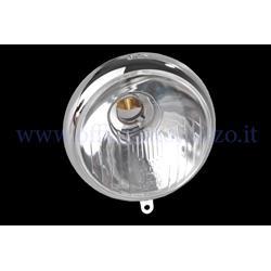 COD. 101 - Front light in glass marked SIEM Ø95mm for Vespa V1> V15 - V30> V33
