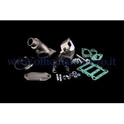 Malossi lamellar intake manifold to crankcase Ø205459 for Vespa 25 - Primavera - ET50