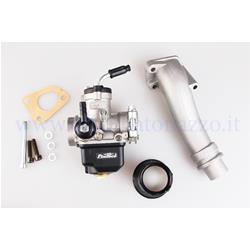 25292701 - Pinasco PHBL 24 AD rigid valve suction kit with three-hole attachment for Vespa PK