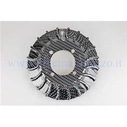 57018.99 - Fan for Parmakit flywheel in carbon look color weight 180 gr