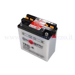 E07019 - Batterie Okiami 12V 5Ah pour Vespa PK tous modèles