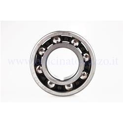100200540 - Ball bearing SKF - 6205 / C4 - (25x52x15) flywheel and clutch side bench for Quattrini crankcase