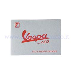 60042M - Use and maintenance manual for Vespa 150 from 1956