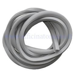 00984-GR - Gray rubber profile Ariete bonnets for Vespa 125 1949> 66 - V30> 33 - VM - VN - VNA -VNB - VL - VB - VBA - VBB - 150 GS
