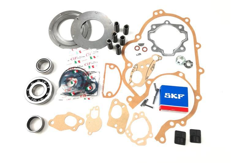 - Kit de révision moteur pour Vespa PX 125/150 jusqu'en 1983 - TS 2ème série avec roulements principaux pinasco